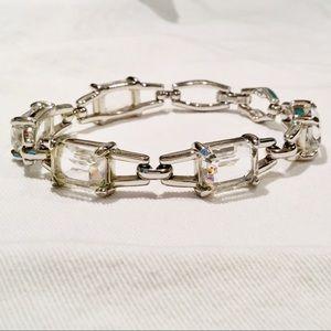 Swarovski Rhodium-plated Crystal Bracelet